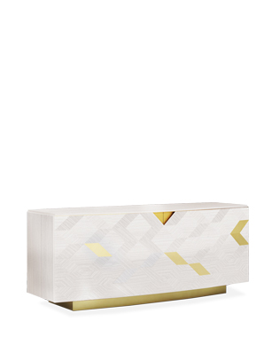 Avalon Gold Sideboard