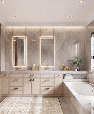 Dare Interiors - Carter Bathroom